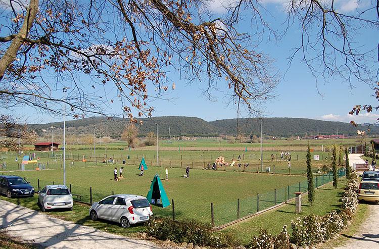 Cocca Pet Village dispone di 20.000 mq immersi nel verde