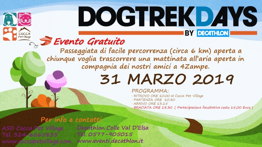 DOG TREKKING DAYS Marzo 2019